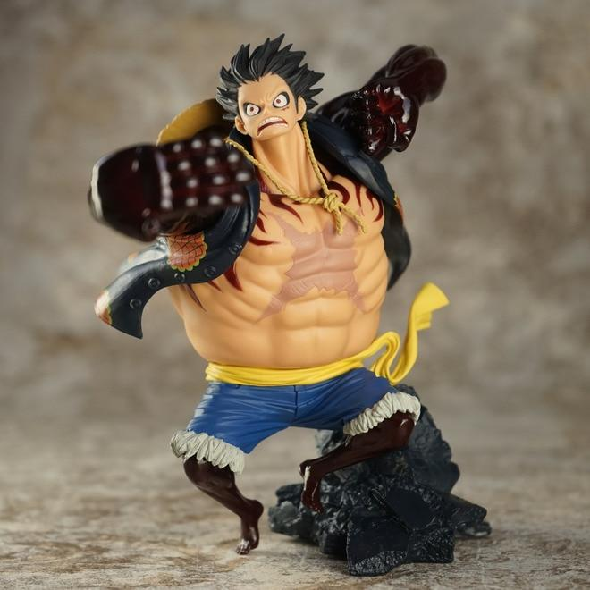 Gear Fourth - Monkey D. Luffy - Action Figure MNK1108 without box Official One Piece Merch