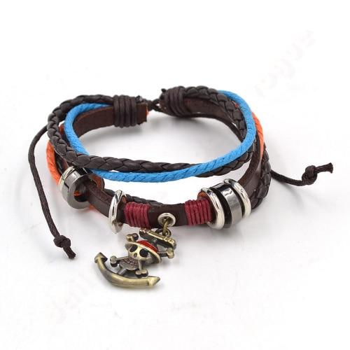 Drawstring Rope - One Piece Bracelet MNK1108 Default Title Official One Piece Merch