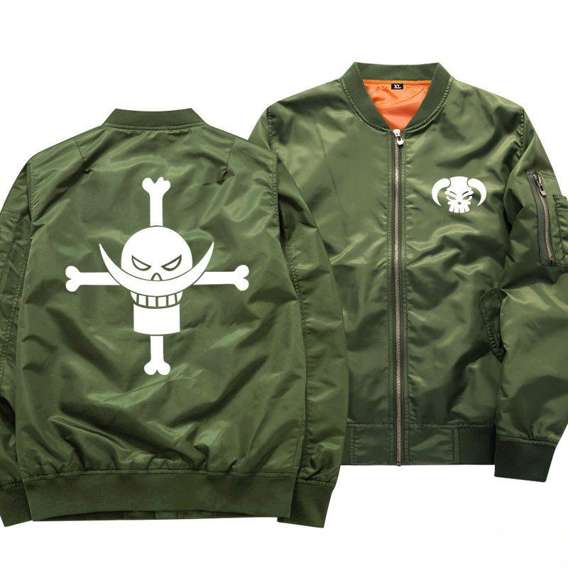 One Piece Whitebeard Pirates Bomber Jacket ANM0608 S Official One Piece Merch