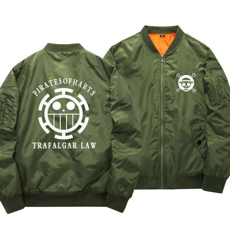 One Piece Pirates of Hearts Bomber Jacket ANM0608 S Official One Piece Merch