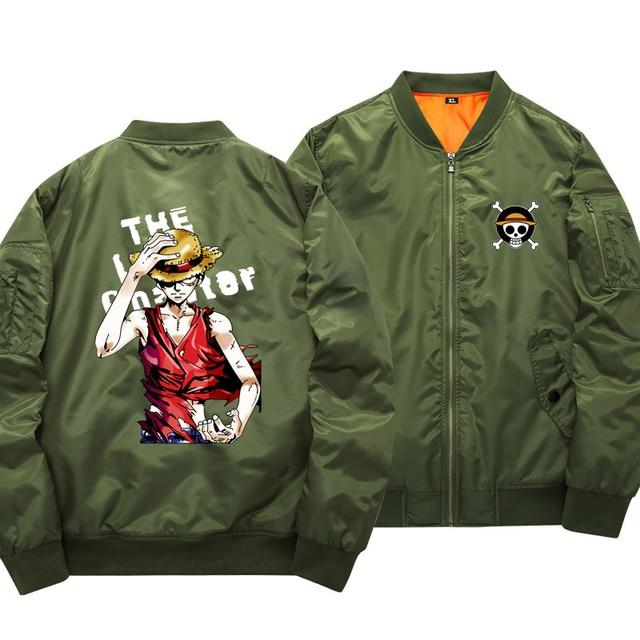 One Piece Monkey D. Luffy Bomber Jacket ANM0608 S Official One Piece Merch