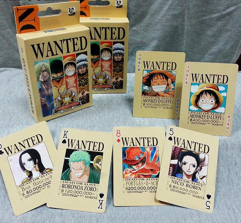 One Piece Collection Cards / Poker Cards MNK1108 Monkey D. Luffy Official One Piece Merch