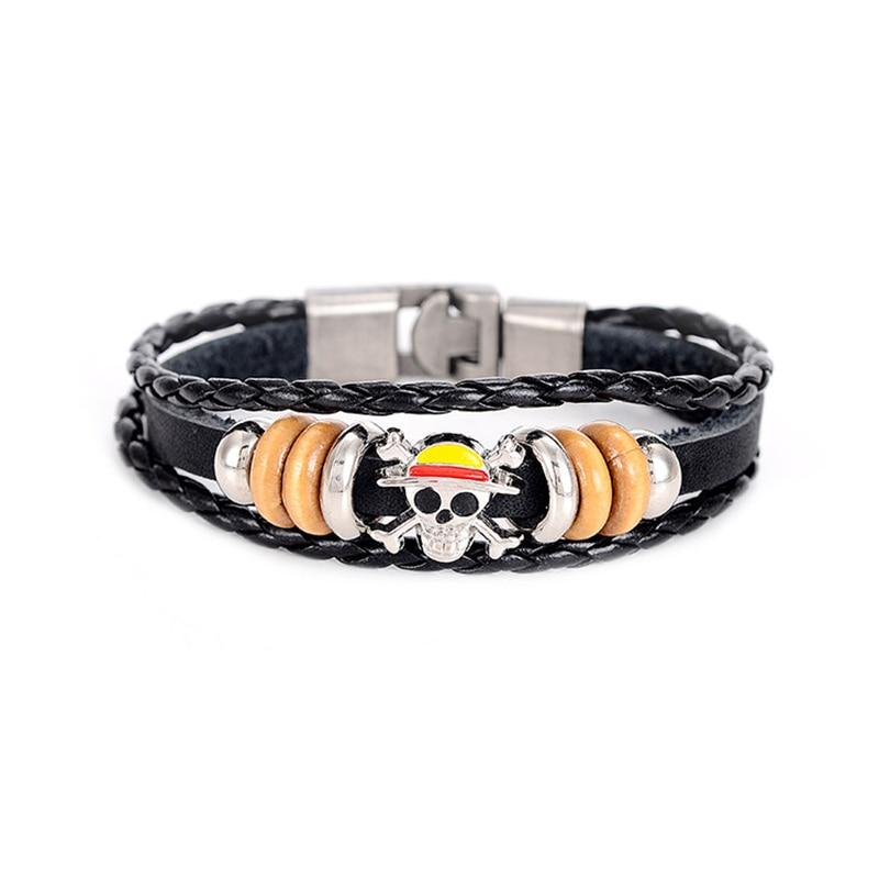 Myltilayer Stainless Steel - One Piece Bracelet MNK1108 Default Title Official One Piece Merch