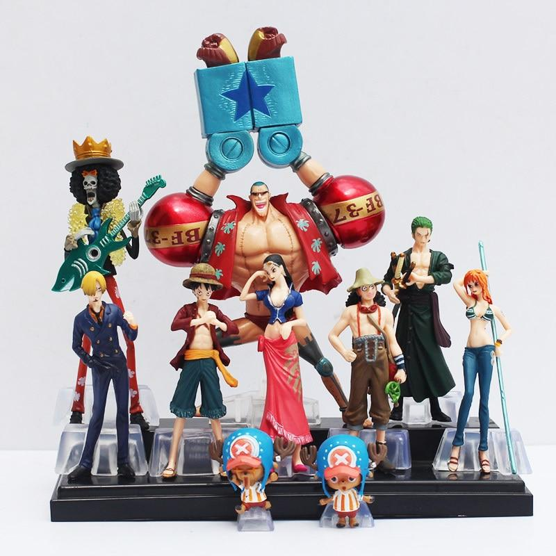 Straw Hat Crew - 2 Years Later - Action Figure MNK1108 Default Title Official One Piece Merch
