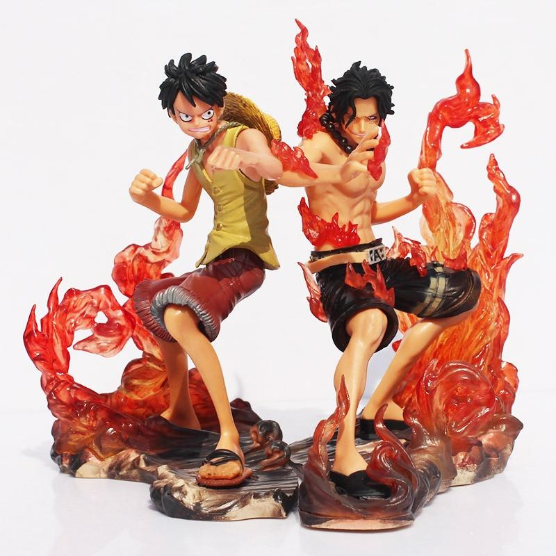 Luffy & Ace Brotherhood - Action Figure MNK1108 Default Title Official One Piece Merch