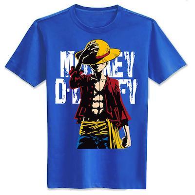 Blue / XL Official One Piece Merch