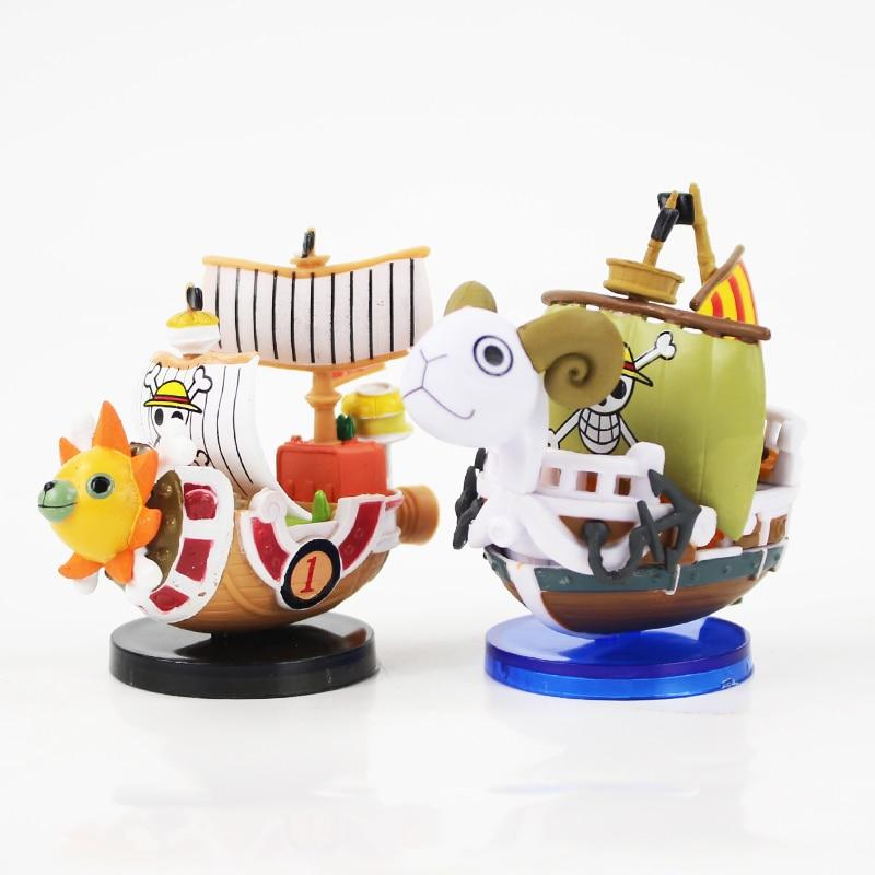 Thousand Sunny & Going Merry - Mini Pirate Ships MNK1108 Going Merry Official One Piece Merch