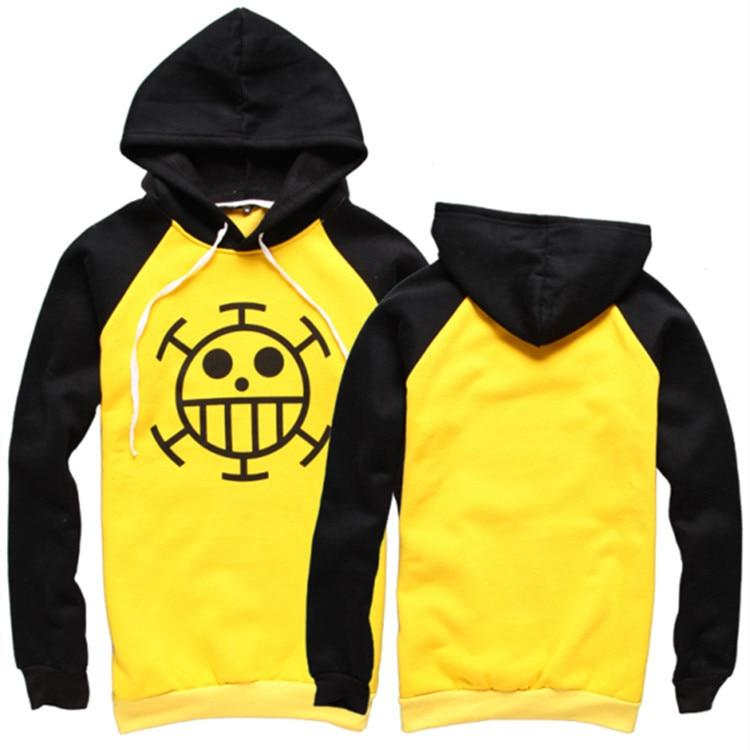 One Piece Trafalgar D. Water Law Signature Outfit Hoodie ANM0608 S Official One Piece Merch