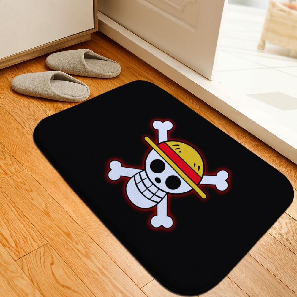 One Piece Floor Mats MNK1108 Ace / 40cmx60cm Official One Piece Merch