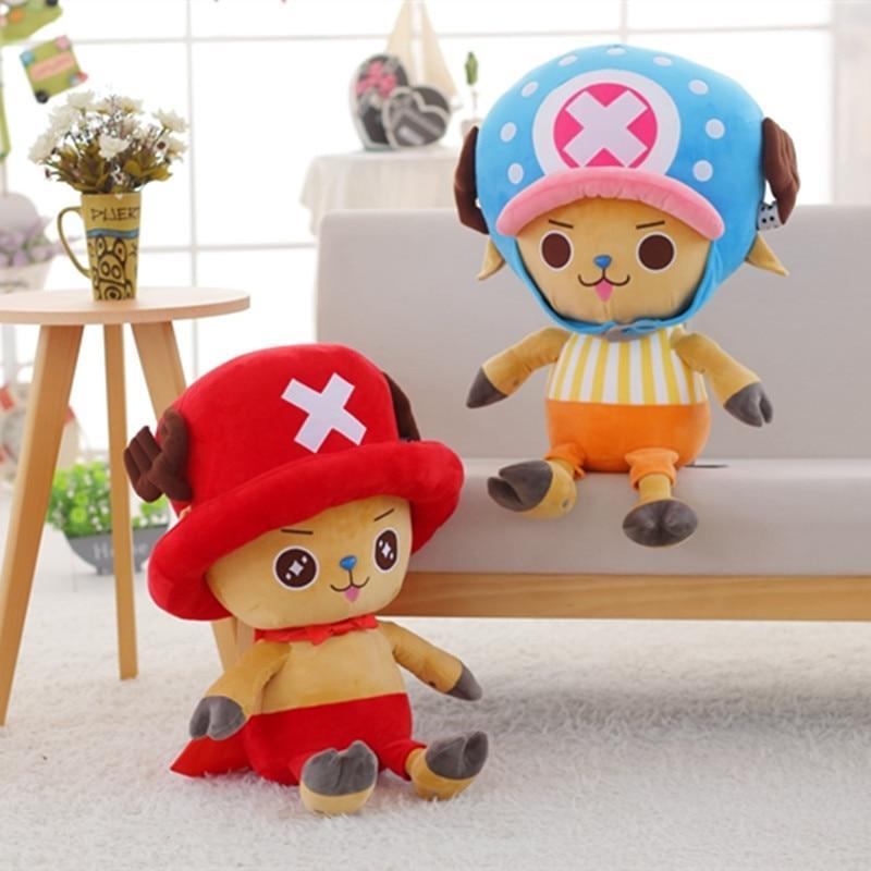 Tony Tony Chopper - Plush Doll MNK1108 White Official One Piece Merch