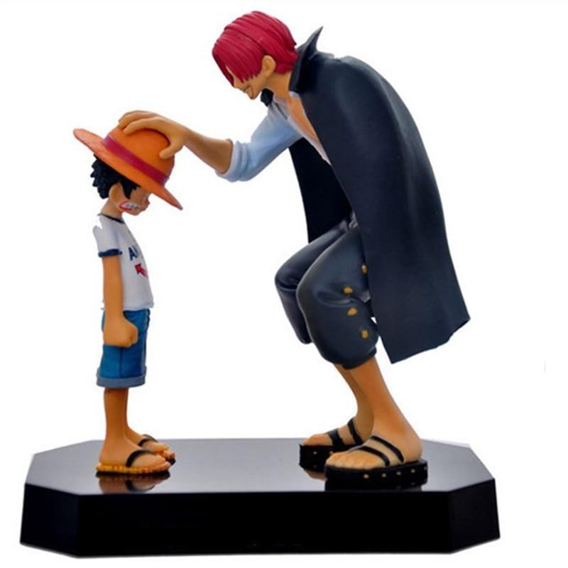 Straw Hat Luffy & Red Hair Shanks MNK1108 Default Title Official One Piece Merch