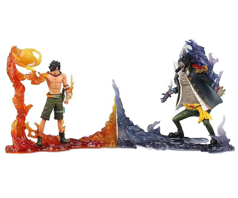 Portgas D. Ace vs Blackbeard - Action Figure MNK1108 Default Title Official One Piece Merch
