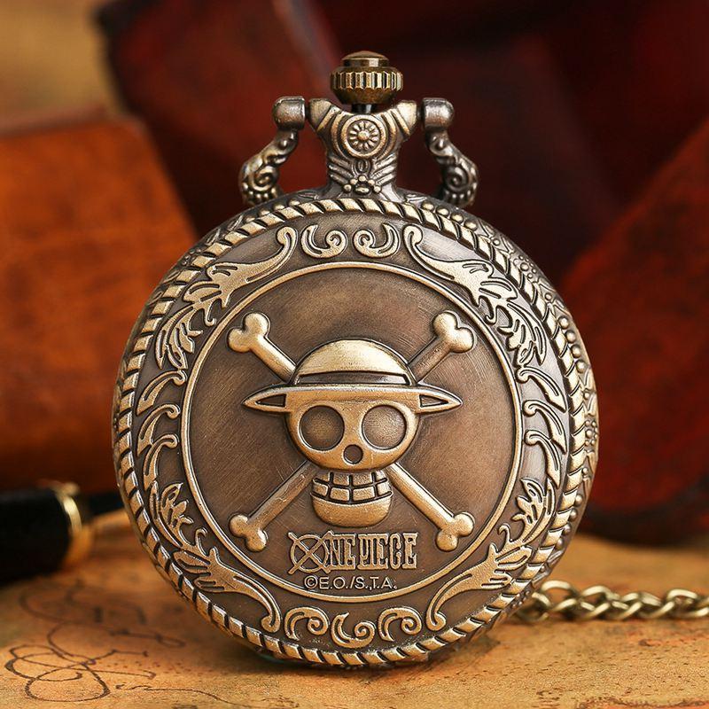 One Piece - Vintage Pocket Watch MNK1108 Default Title Official One Piece Merch