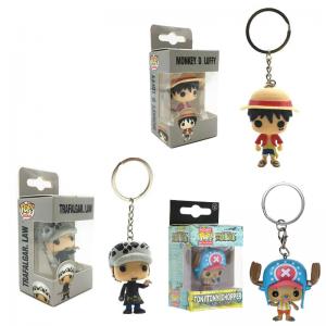 Luffy - Law - Chopper Funko Pop Keychain MNK1108 Law Official One Piece Merch