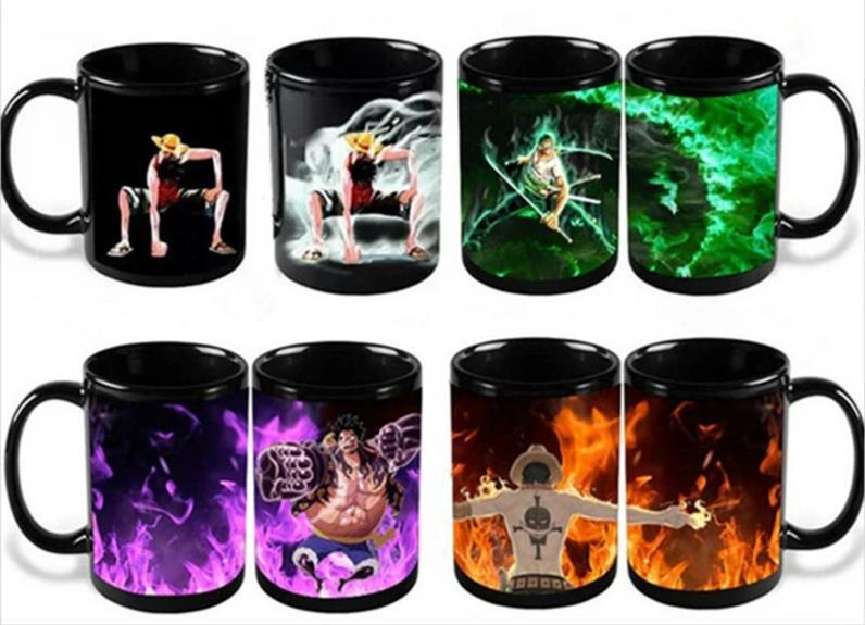 Colour Changing One Piece Mugs MNK1108 Gear 2 Official One Piece Merch