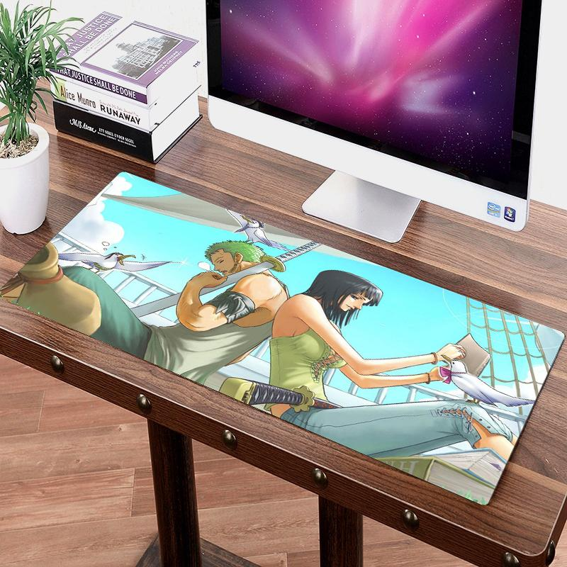One Piece Nico Robin x Roronoa Zoro Big Mouse Pad ANM0608 Default Title Official One Piece Merch