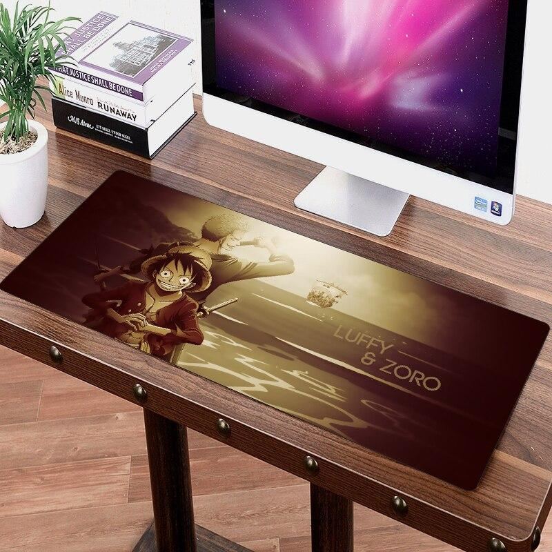 One Piece Roronoa Zoro & Monkey D. Luffy Big Mouse Pad ANM0608 Default Title Official One Piece Merch