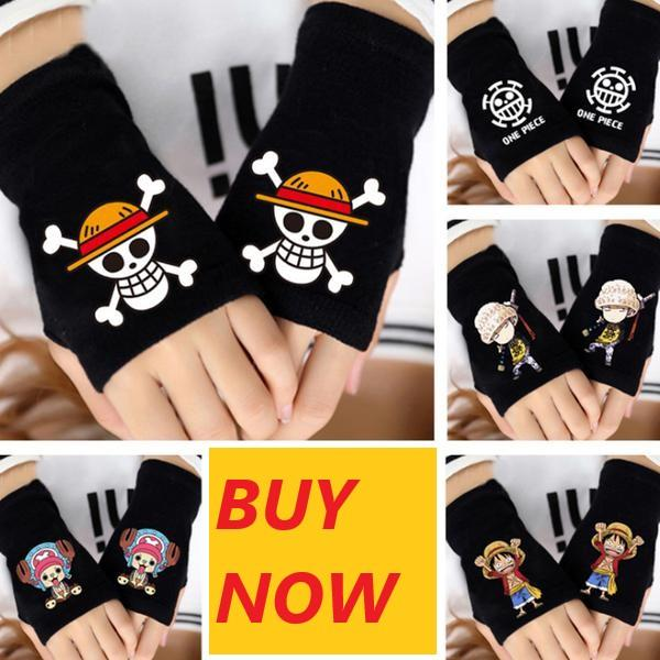 One Piece Cotton Wrist Gloves MNK1108 Chopper Official One Piece Merch